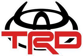 TRD Devil Horns Decal / Sticker 24