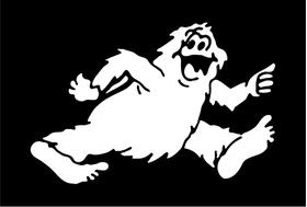 Bigfoot RV Decal / Sticker 07