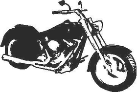Motorcycle Decal / Sticker 02