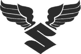 Suzuki Wings Decal / Sticker