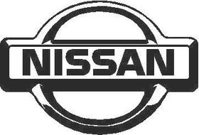 Nissan Logo Decal / Sticker 02