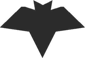 Bat 02 Decal / Sticker