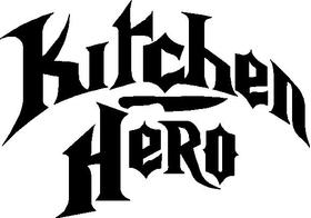 Kitchen Hero Decal / Sticker
