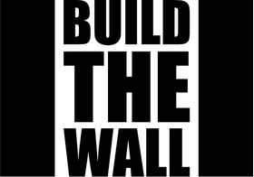 Build The Wall Decal / Sticker 02