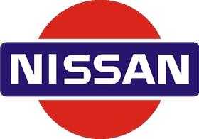 Nissan Logo Decal / Sticker 09