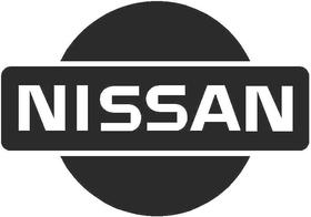 Standard Nissan Logo Decal  / Sticker