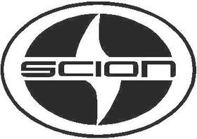 Scion logo Decal / Sticker 02