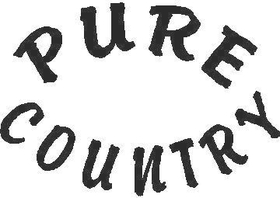 Pure Country  Decal / Sticker