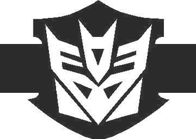 Decepticon HD Transformers Decal / Sticker