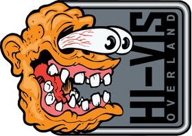 Hi-Vis Overland Decal / Sticker Design 02