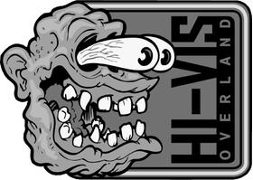 Hi-Vis Overland Decal / Sticker Design 03