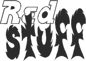 Red Stuff Decal / Sticker
