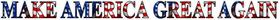 American Flag MAGA Decal / Sticker 09