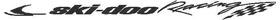 Ski-Doo Racing Decal / Sticker 03