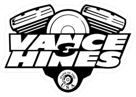 Vance & Hines V-Twin Decal / Sticker 05