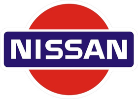 Nissan Logo Decal / Sticker 08