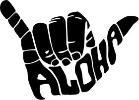 Aloha Decal / Sticker 03