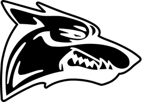 Coyote Decal / Sticker 04