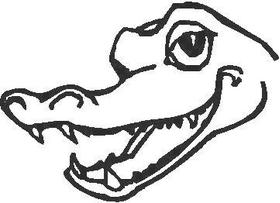 Alligator 02 Decal / Sticker