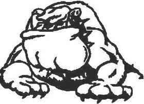 BullDog Decal / Sticker 05