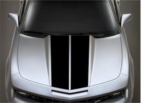 10 Inch Dual Racing Stripe Decal / Sticker