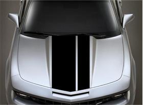 12/6 Inch Off-Set Racing Stripe Decal / Sticker