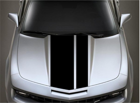 10/5 Inch Off-Set Racing Stripe Decal / Sticker