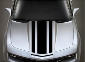 3/8/3 Inch Wide Racing Stripe Decal / Sticker