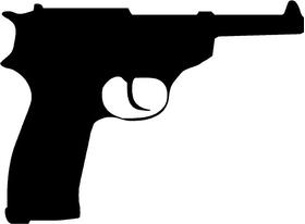 Walther P38 Gun Decal / Sticker