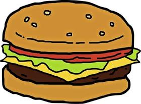 Bob's Burgers Burger Decal / Sticker 14