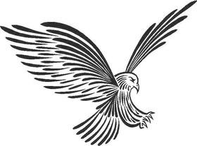Eagle Decal / Sticker 05