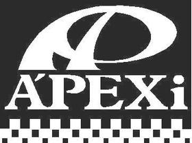 APEXi Checkered Decal / Sticker