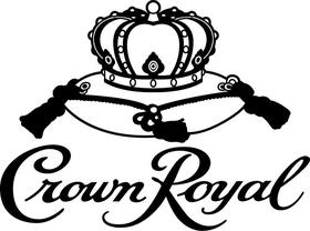 Crown Royal Decal / Sticker 07