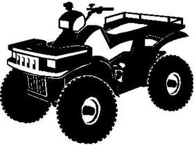 4 Wheeler Decal / Sticker Design 1