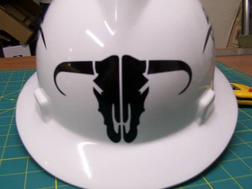 Bull Skull Decal / Sticker