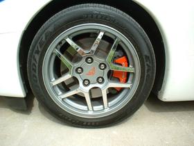 C5 Z Wheel Spoke Covers