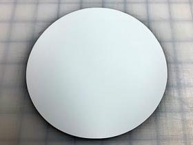 Matte White 5.5 Inch Circle Magnet Blank