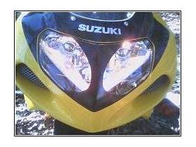 Suzuki GSXR Headlight Divider Decal / Sticker