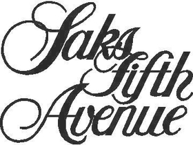 Saks Fifth Avenue Decal / Sticker 02