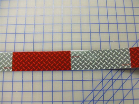 Reflective Diamond Plate Safety Conspicuity Tape