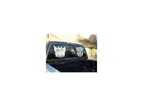 Transformers Decepticon Decal / Sticker