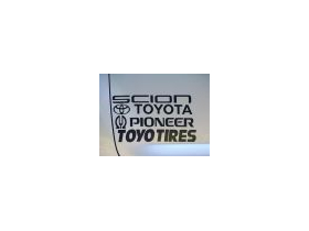 Toyota Lettering and Logo Decal / Sticker