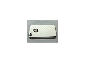 White Carbon Fiber iPhone