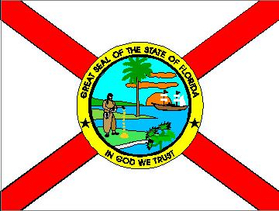 Florida State Flag Decal / Sticker
