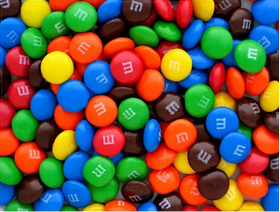 Assorted M&M Decal / Sticker 51