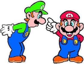 Mario and Luigi Decal / Sticker