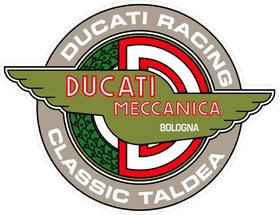 Ducati Racing Classic Taldea Decal / Sticker 32