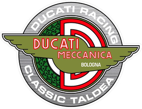 Ducati Racing Classic Taldea Decal / Sticker 57