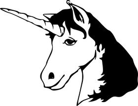Unicorn Decal / Sticker 15