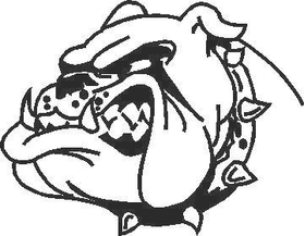 Bull Dawg Decal / Sticker